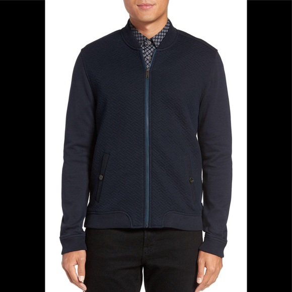 Ted Baker Jackets Coats Bruno Quilted Bomber Jacket Poshmark